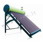 SS200I slėginis vakuuminis saulės vandens šildytuvas su variniu gyvatuku